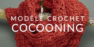 Modèle crochet en Cocooning