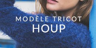 Modèle tricot Houp